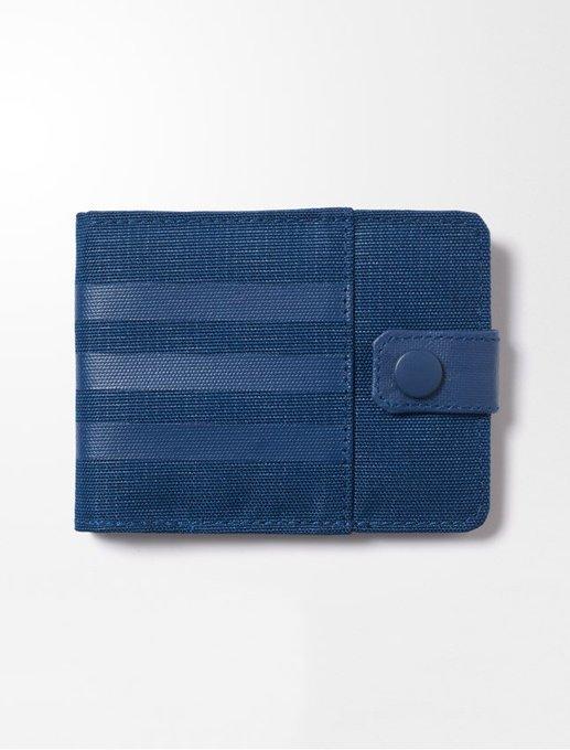 ADIDAS Performance 3S Per Wallet 皮夾 短夾 藍【運動世界】 S99644