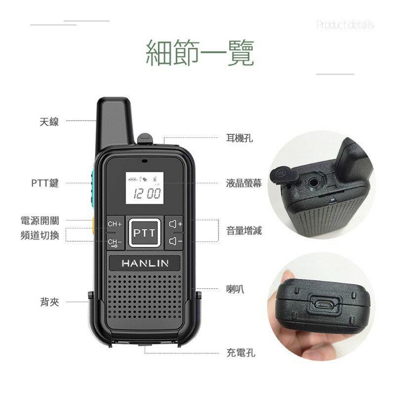 HANLIN-TLK28S 迷你手持無線電對講機 無線電 手持對講機 3