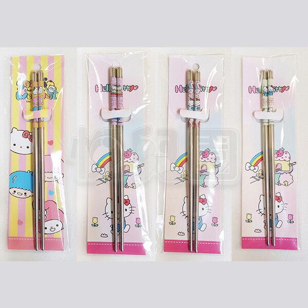 HELLOKITTY凱蒂貓不鏽鋼筷(款式隨機)【悅兒園婦幼生活館】