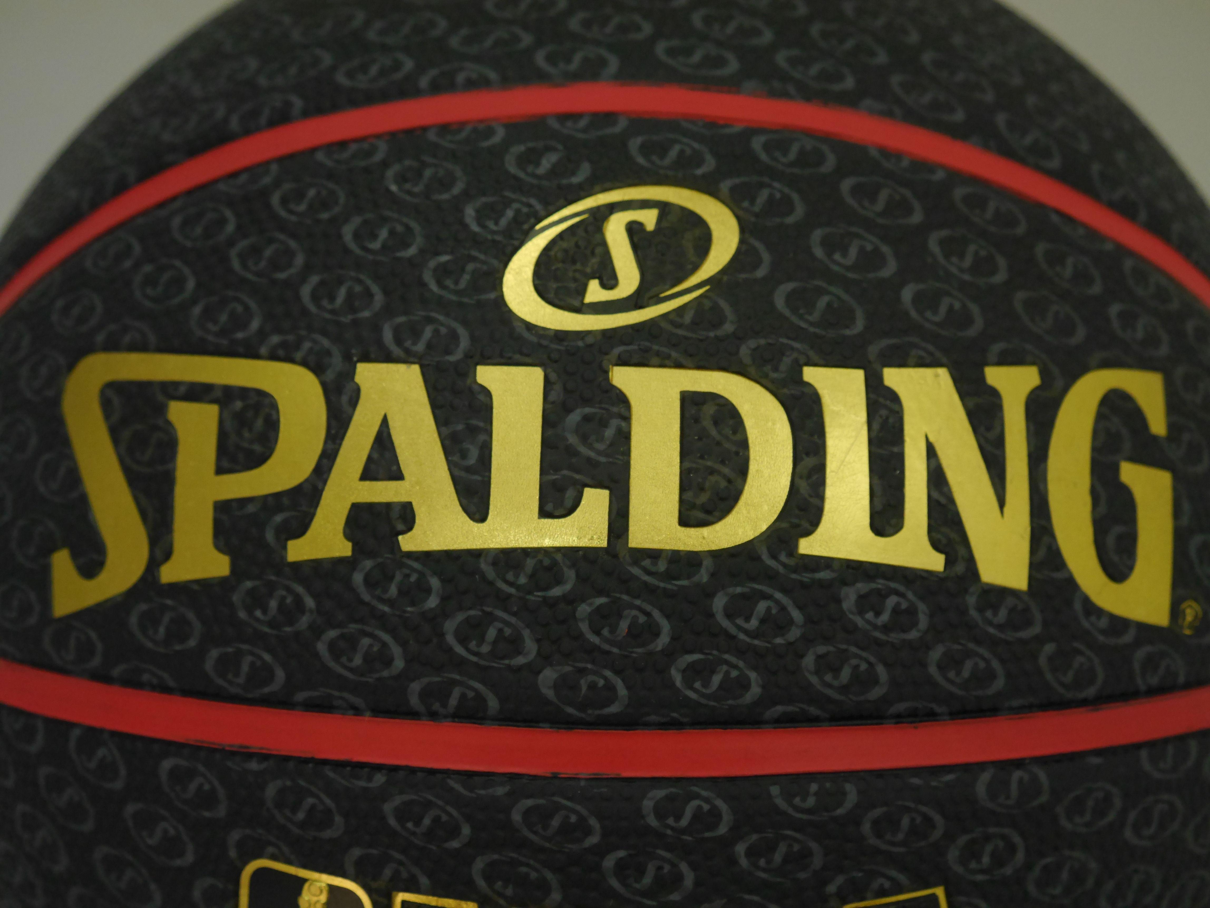 斯伯丁籃球SPALDING《HIGHLIGHT 系列黑紅金色【曉風】 1