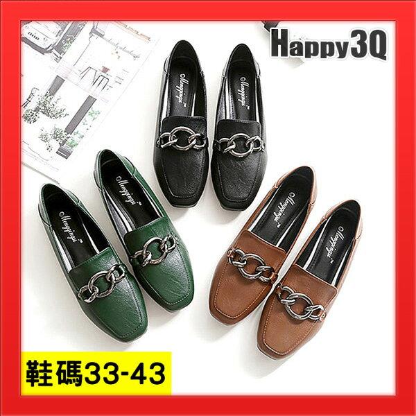 大尺碼女鞋懶人鞋42平底鞋43女鞋加大碼-黑綠棕33-43【AAA4691】