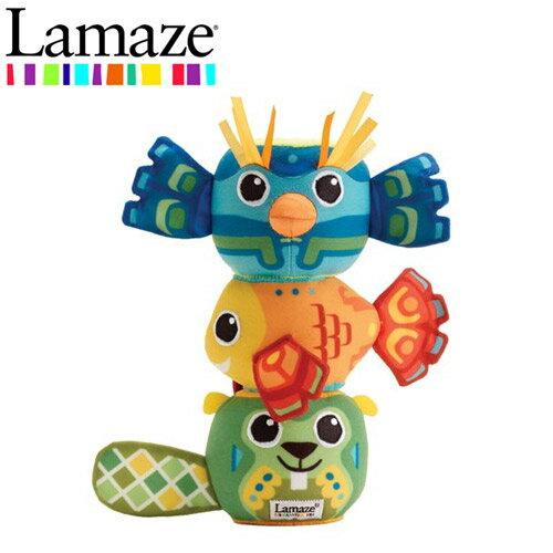正版進口 Lamaze 拉梅茲 可愛動物磁力疊疊樂 嬰幼兒玩具 玩具 - 272320