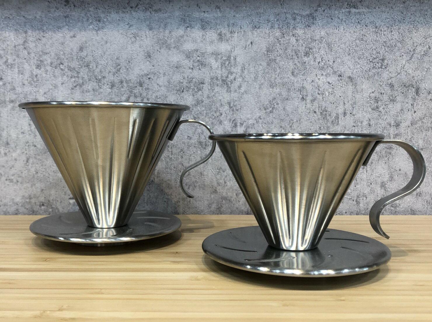 MILA 304不鏽鋼手沖咖啡濾杯 V60錐形『93 coffee wholesale』