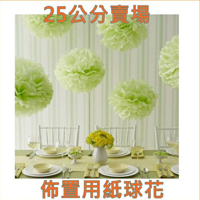 [Hare.D] 紙花球 DIY 25公分紙球花 園遊會 佈置 校慶布置 紙球花 紙繡球花 婚禮小物 球花