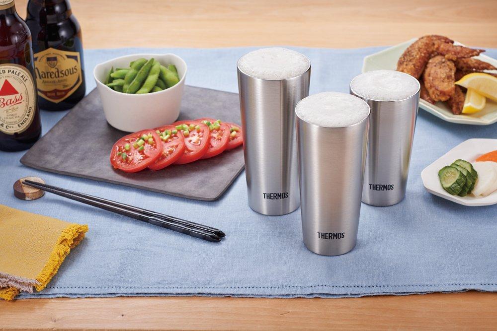 【預購】日本 正版 THERMOS 300/400ML 2個組 膳魔師 不鏽鋼 真空 保溫杯 保冰杯 夏天 飲料杯 【星野生活王】