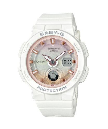 CASIO 照明運動海洋計時女錶