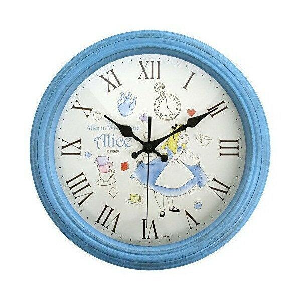 X射線【C058259】愛麗絲夢遊仙境Alice仿木掛鐘,時鐘掛鐘壁鐘座鐘鬧鐘鐘錶手錶潛水錶