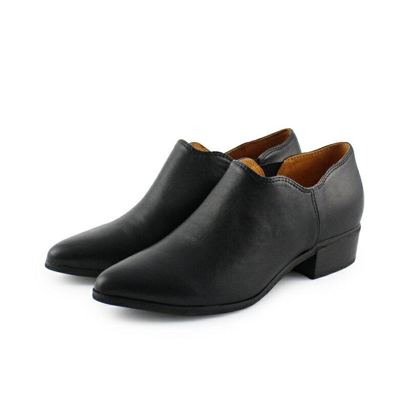 【B2-16130L】鞋口不規則個性踝靴_Shoes Party 4