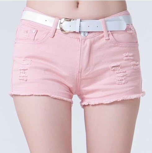 夏百搭破洞白色,全棉牛仔短褲熱褲 (3色,6碼) 【OREAD】 1