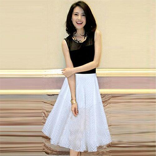 《 任選2件_一件299》現貨 兩件組裝裙半身長裙 (2色,S~XL) - ORead 自由風格