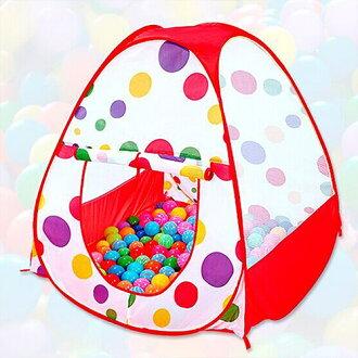 【親親寶貝】粉彩點點超大兒童遊戲帳篷屋/野餐帳篷 寶貝的秘密基地