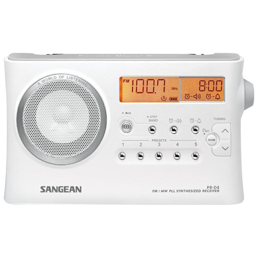 SANGEAN 山進 二波段數位式收音機 PRD4 / PRD4