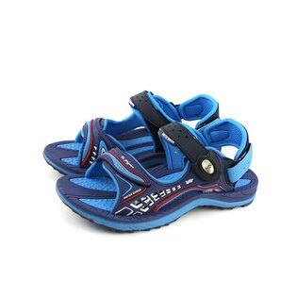 GP(Gold.Pigon)涼鞋防水雨天藍色大童童鞋G8675B-23no936