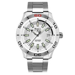 BALL 波爾錶DM3090A-S3J-WH Fireman專業潛水腕錶/白面42mm