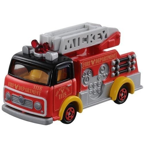 《TOMICA》夢幻小汽車 - 米奇消防車