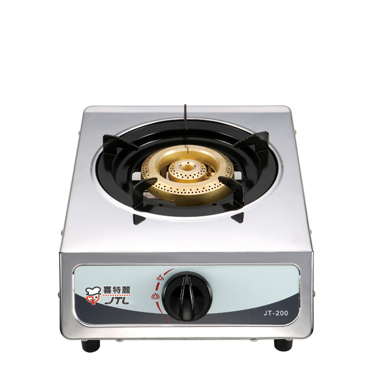 喜特麗單口不鏽鋼瓦斯台爐 JT-200 液化(本 不 )