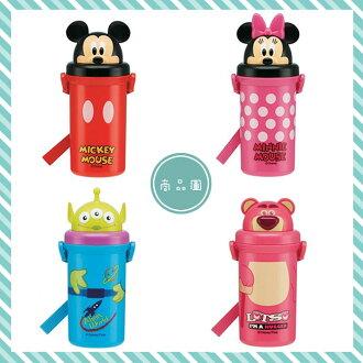 大田倉 日本進口正版商品 迪士尼 米奇米妮 mickey 玩具總動員 皮克斯 三眼怪 熊抱哥 吸管 水壺 268489