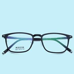 ★眼鏡框方框眼鏡鏡架-文藝氣質簡約百搭男女平光眼鏡5色73oe16【獨家進口】【米蘭精品】