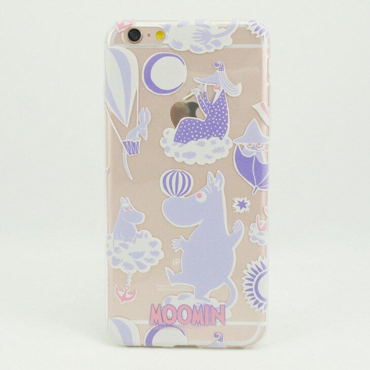 TPU手機殼-Moomin嚕嚕米授權【Moomin遊樂園(粉紫)】《 iPhone/ASUS/HTC/LG 》