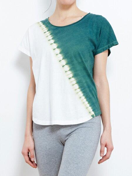 【Bali】100%有機棉IkatT恤 瑜珈服 1