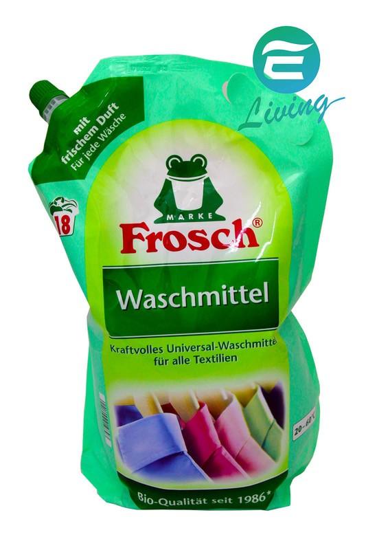 Frosch Waschmittel 增豔洗衣精補充包 18杯 1.8L #19893