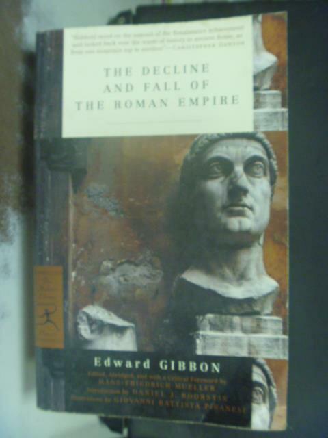 【書寶二手書T7/歷史_KHN】The Decline and Fall of the Roman Empire