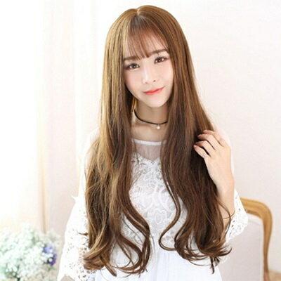 ~假髮整頂假髮長假髮~ 韓風甜美大波浪女 73ef40~ ~~米蘭 ~