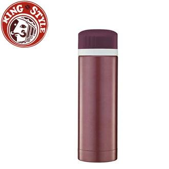金時代書香咖啡 Tiamo 馬卡龍輕甜系列 隨手杯300cc 保溫瓶 紅色