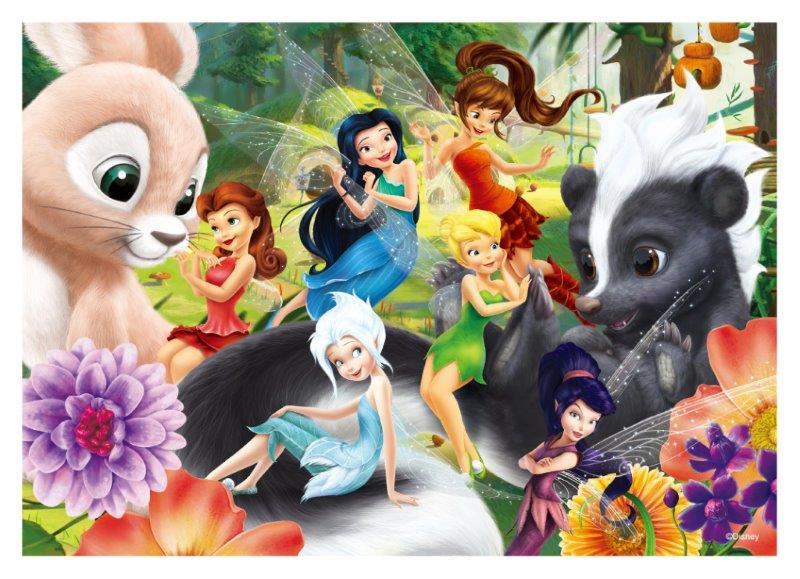 Fairies奇妙仙子(C)拼圖108片