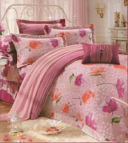 [床工坊]百貨專櫃-[英國授權寢具]-60支美國棉認證/高質感床罩組-雙人加大六尺零碼(孝親推薦組) 3