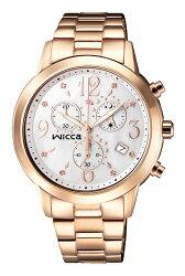 CITIZEN 星辰 WICCA 璀璨時刻計時腕錶 BM1-261-13 38mm