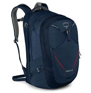 【Osprey美國】NEBULA34電腦背包15吋筆電背包城市背包旅行背包雀鳥藍/Nebula34【容量34L】