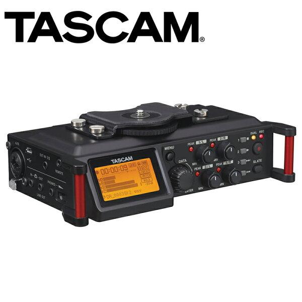 ◎相機專家◎TASCAM達斯冠DR-70D單眼用錄音機4軌數位錄音機收音攝影錄影公司貨