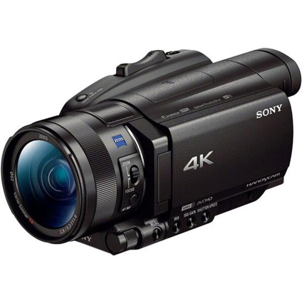 新博攝影器材:【新博攝影】SonyFDR-AX7004K高畫質數位攝影機(分期0利率;台灣索尼公司貨;送原廠NP-FV100A電池、經典對杯)