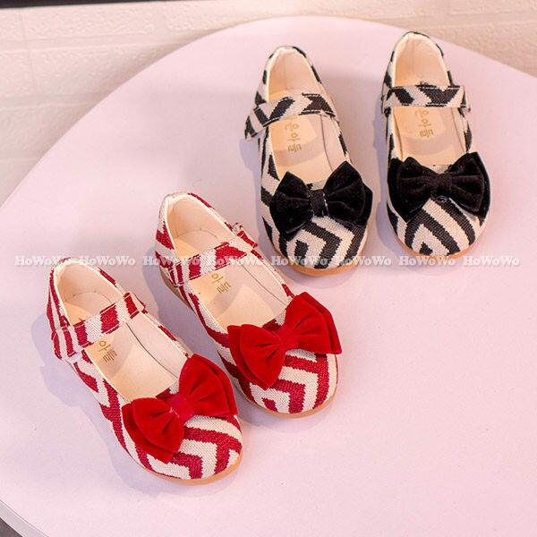 寶寶鞋 蝴蝶結百搭學步鞋 公主鞋 (16-18.5cm) KL2949