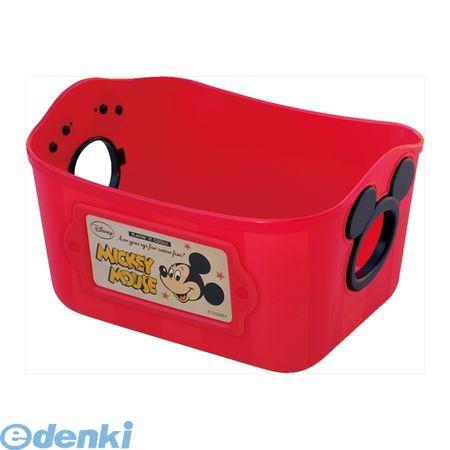 大賀屋 米奇 置物籃 收納 整理 籃 紅色 迪士尼 Disney 米老鼠 日本製 正版 授權 T00110040