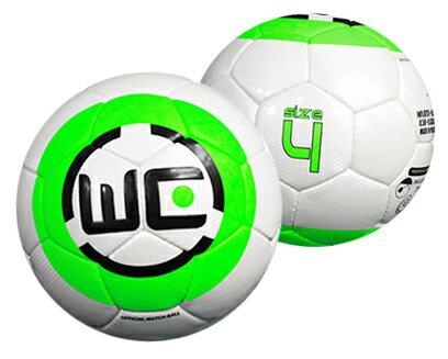 WE螢光綠4號 PU足球 - 限時優惠好康折扣