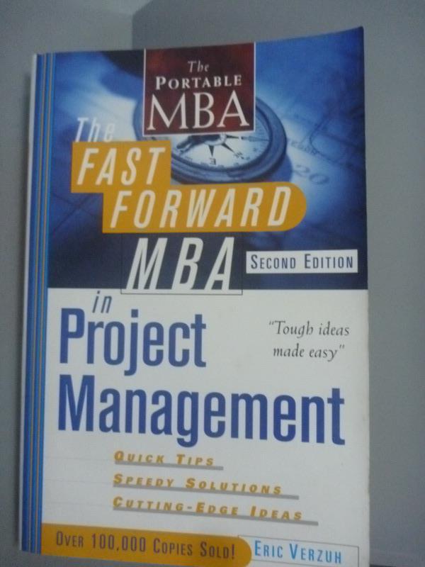 ~書寶 書T9/大學商學_YHJ~The Fast Forward Mba In Proj