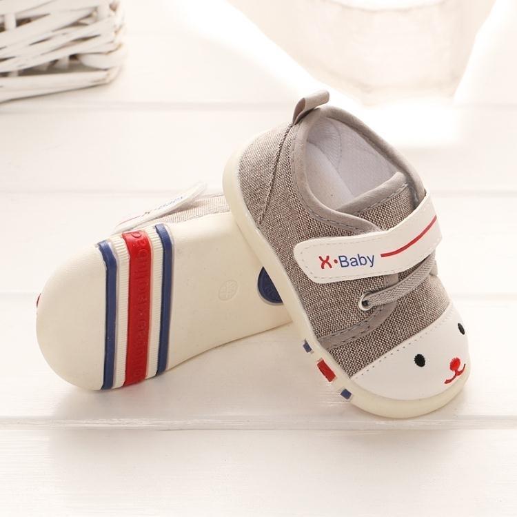 嬰兒鞋子6-12個月男童女寶寶學步鞋春秋0-1一2歲秋季八十軟底帆布