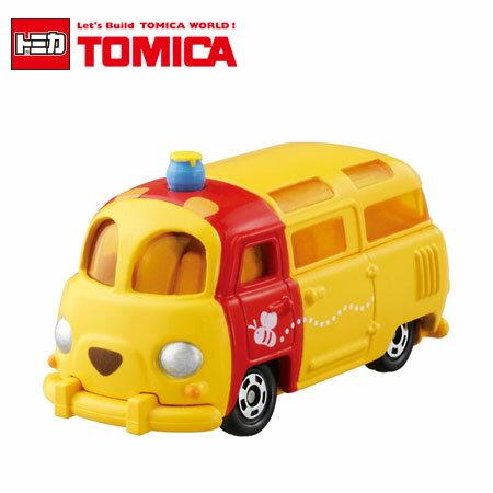 日貨 TOMICA 夢幻維尼麵包車 DM-18 多美小汽車 迪士尼 維尼熊 小熊維尼 日本進口【B061468】