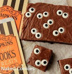 裸餅乾 Naked Cookies:【裸餅乾NakedCookies】萬聖節創意布朗尼蛋糕甜點