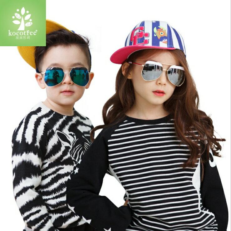 WallFree窩自在★ 特色造型鏡框弧度紫外線護目兒童成人親子款炫彩太陽眼鏡