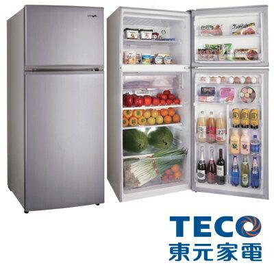 【純米小舖】TECO東元 480L變頻雙門冰箱(R4881XLH)