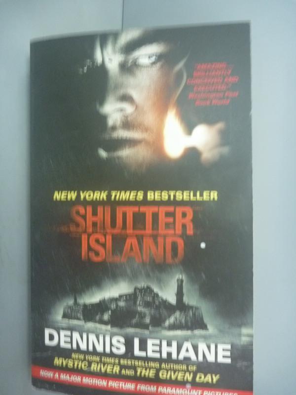 ~書寶 書T1/原文小說_JLE~Shutter Island_Lehane Dennis