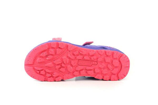 MERRELL 涼鞋 紫色 大童 no055 6