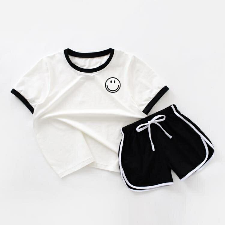 「樂天優選」不一樣的親子夏裝一家三口母子母女裝套裝韓版洋氣全家裝