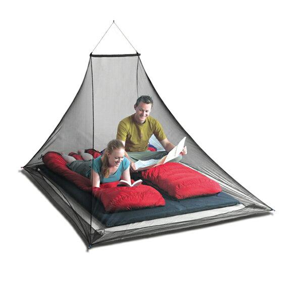 【露營趣】附吊桿SeaToSummitSTSAMOSDP雙人防蚊帳MosquitoPyramidNet雙人蚊帳驅蚊處理防蚊罩