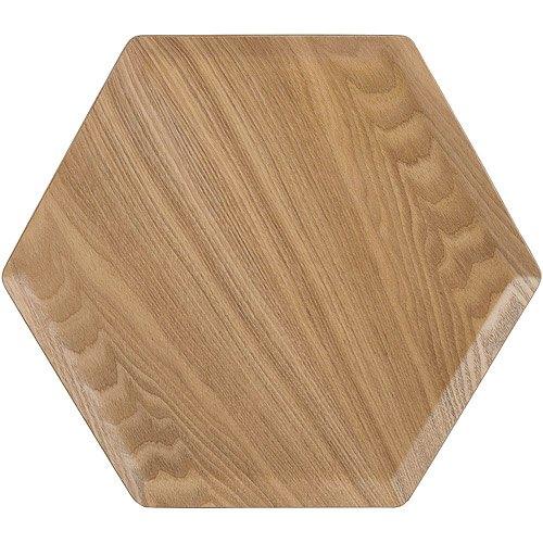 《CreativeTops》木質六角型托盤
