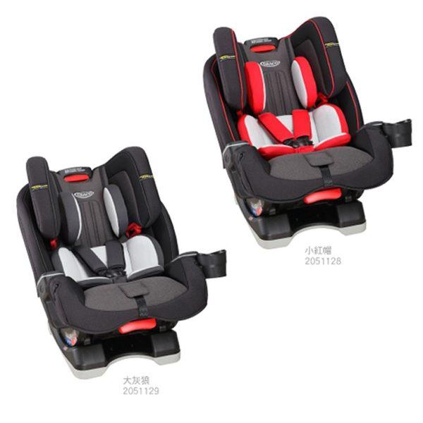 GRACO MILESTONE™ LX (0-12歲)長效型嬰幼童汽車安全座椅【六甲媽咪】