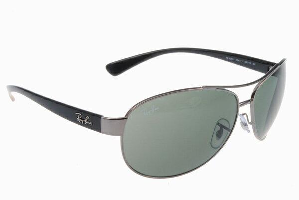 Ray Ban 雷朋 銀墨綠 太陽眼鏡 RB3386 4